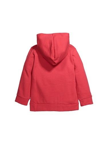 Zeyland Kapüşonlu Fermuarlı Sweatshirt (4-14yaş) Kapüşonlu Fermuarlı Sweatshirt (4-14yaş) Kırmızı